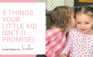 I Was Leading a Kids' Service, but My Kid's Behavior Still Embarrassed Me – Guest feature in Kveller